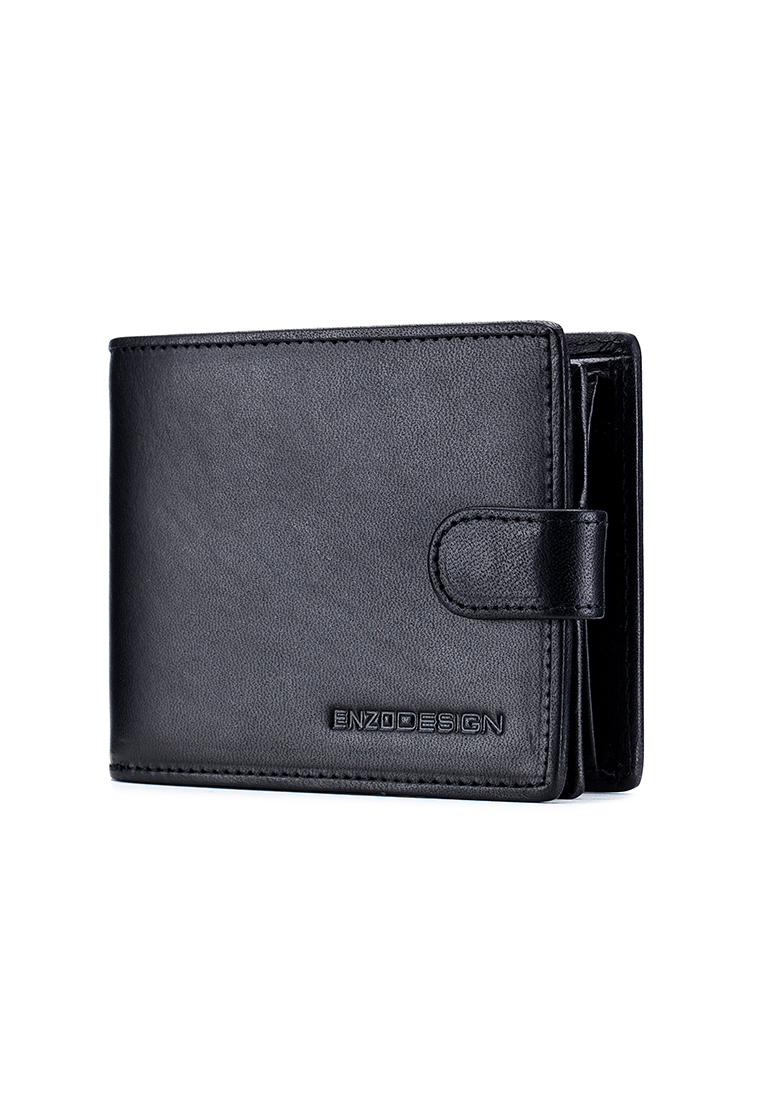Italian Leather Made Tab Wallet with Coin Pocket (G19B-PM)