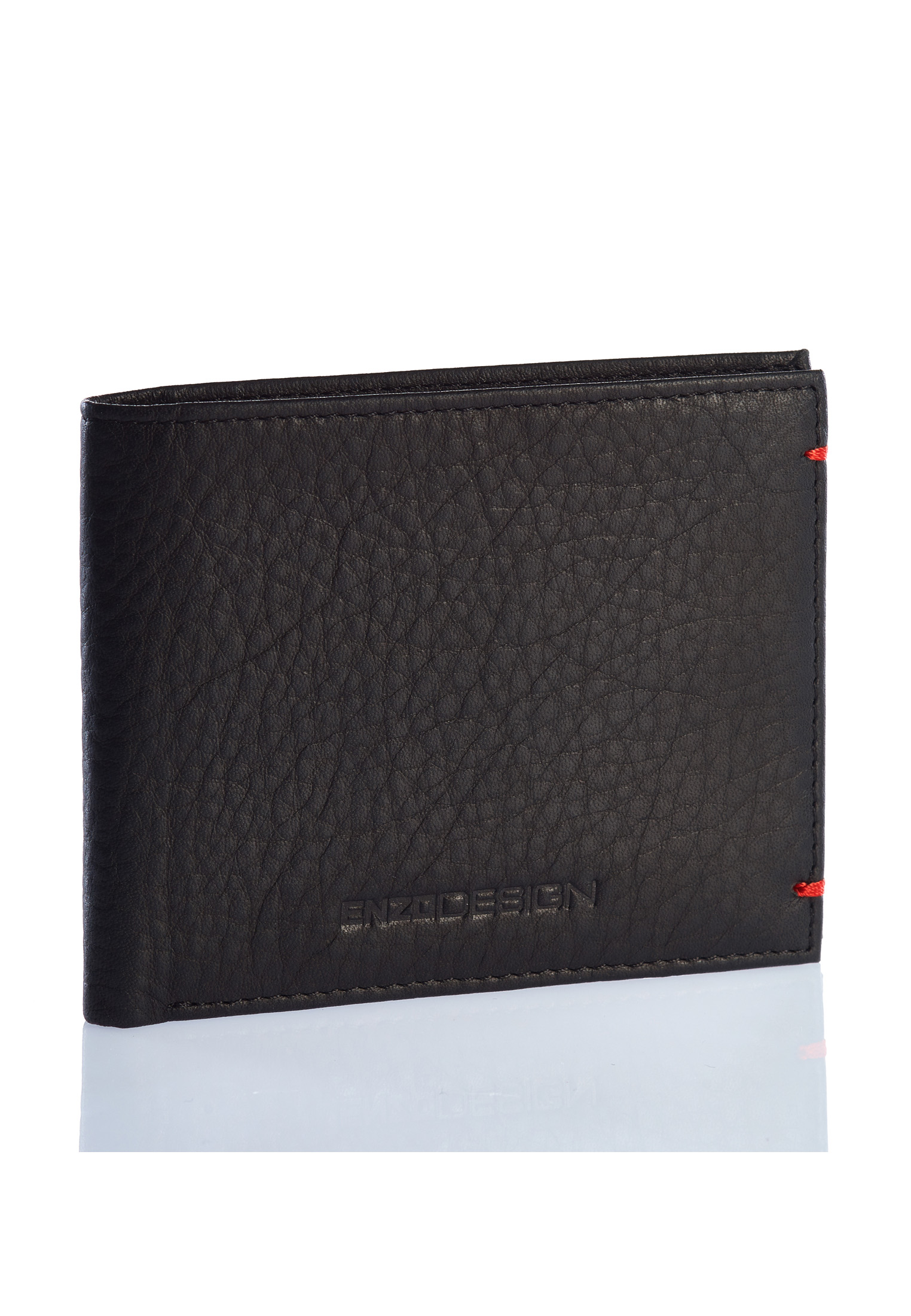 Ultra Soft Cow Nappa Leather Basic Slim Wallet K-BR
