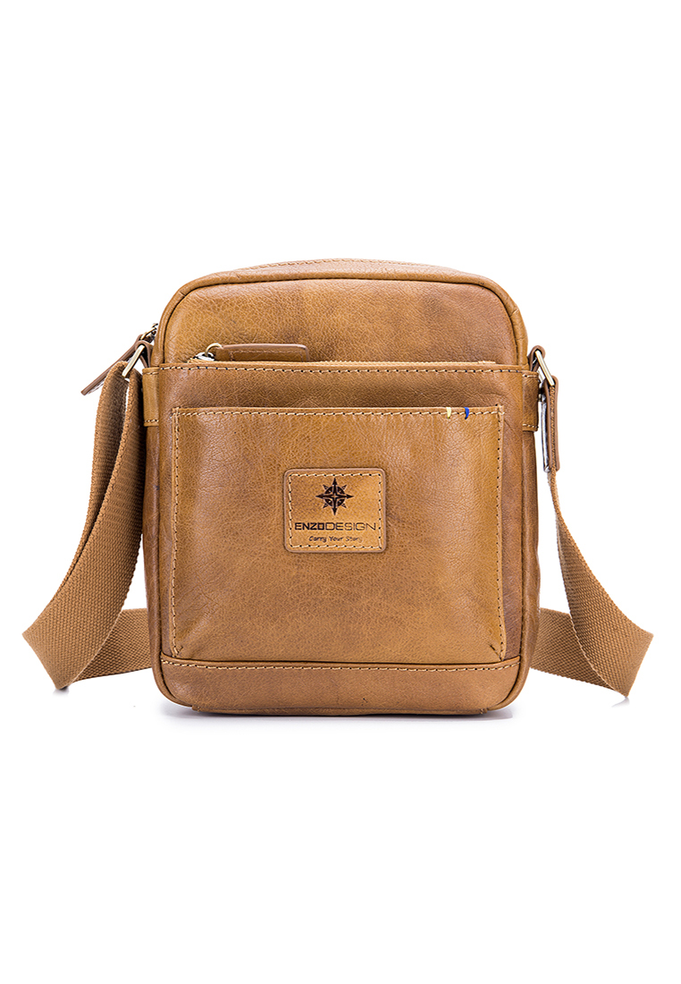 Buffalo Leather Mini Cross Body Shoulder Bag