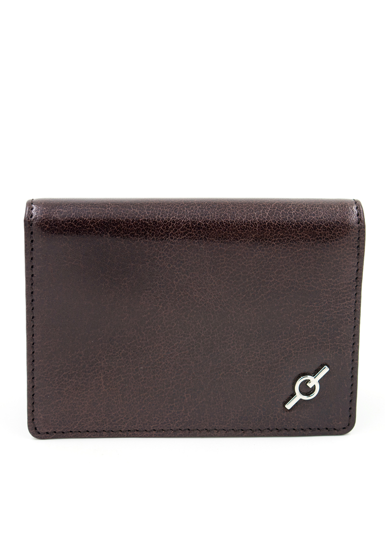 Fine Grained Water Buffalo Leather Card Holder Y-MAR
