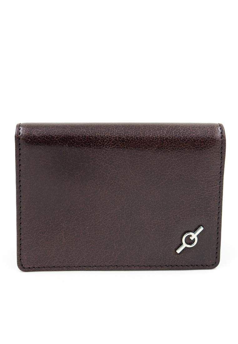 Fine Grained Water Buffalo Leather Card Holder Y-MAR