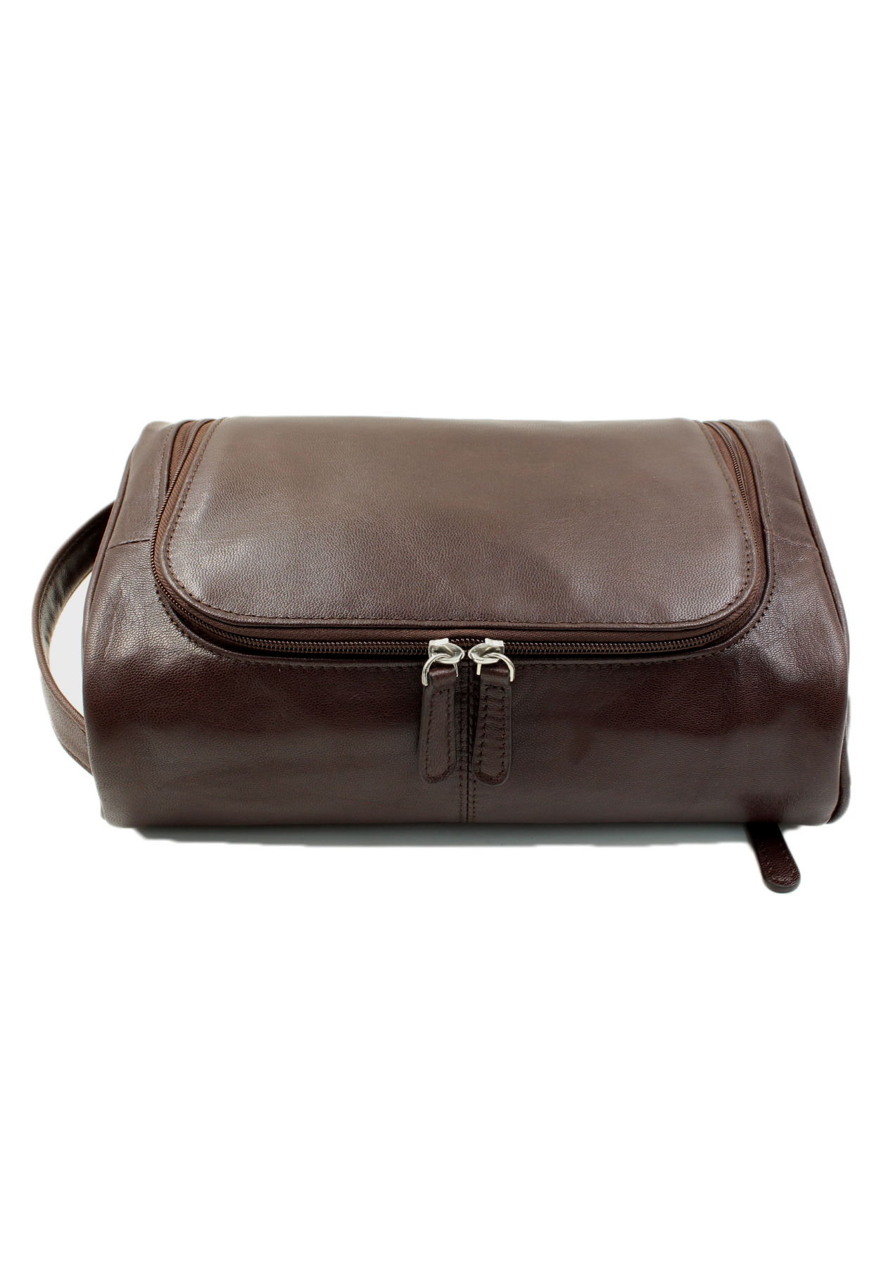 Goat Nappa Leather Hanging Travel Kit