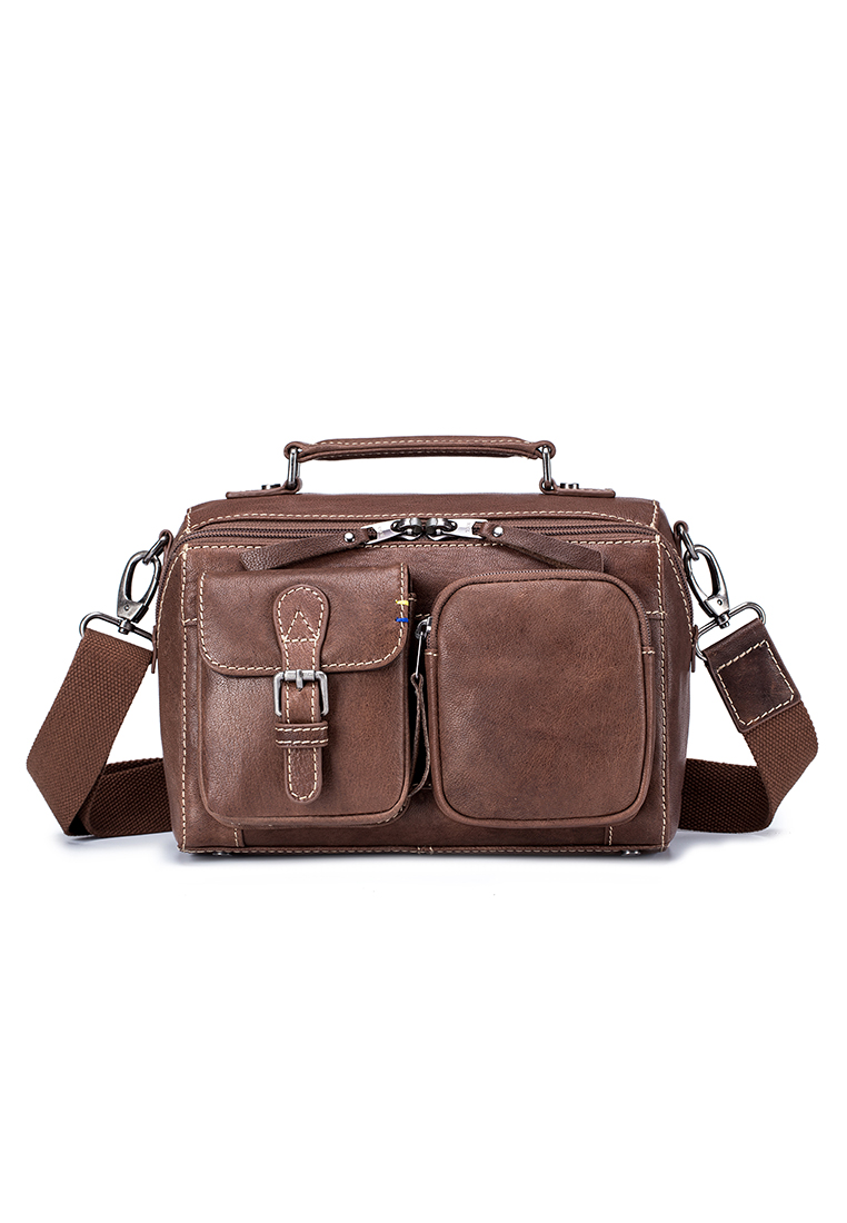Heritage Leather A5 Two Way Shoulder Bag (B11132)