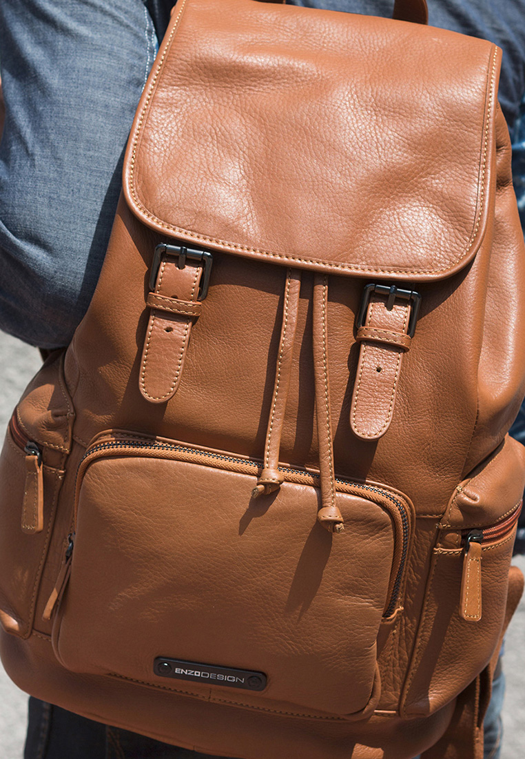 Top Quality Cow Nappa Leather Backpack