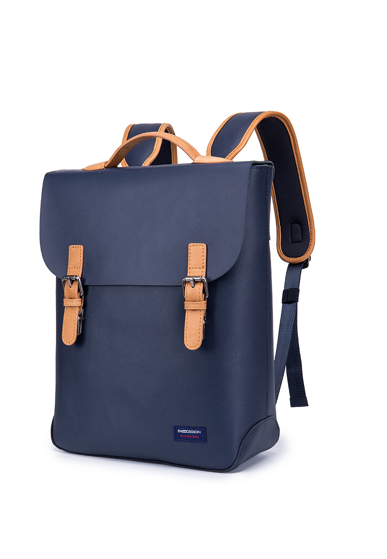 Robust Causal Cow Leather Backpack