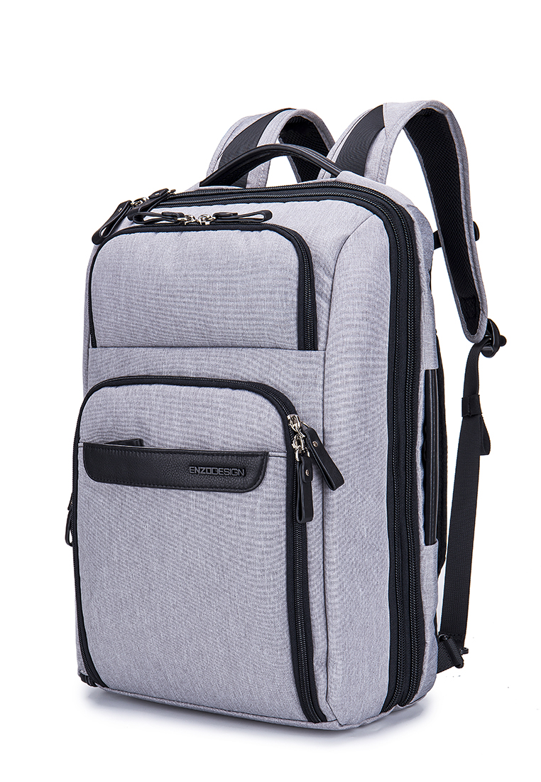 "17"" Laptop Multi pockets All-in-One Backpack (B12442-GRY)"